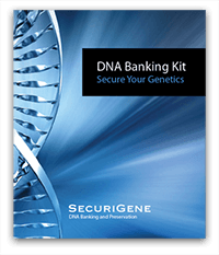 dna banking storage capsule kit