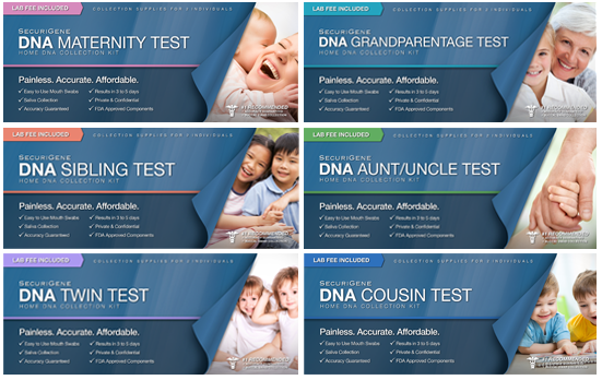 dna kinship testing kit